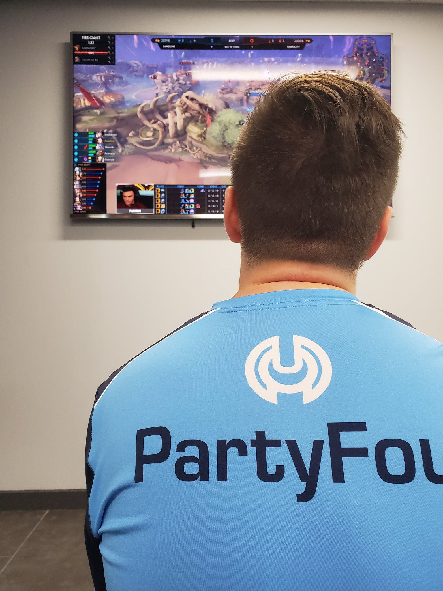 """Congratulations to PartyFoul  on his new role as the """"Director of esports"""" at Simplicity"""
