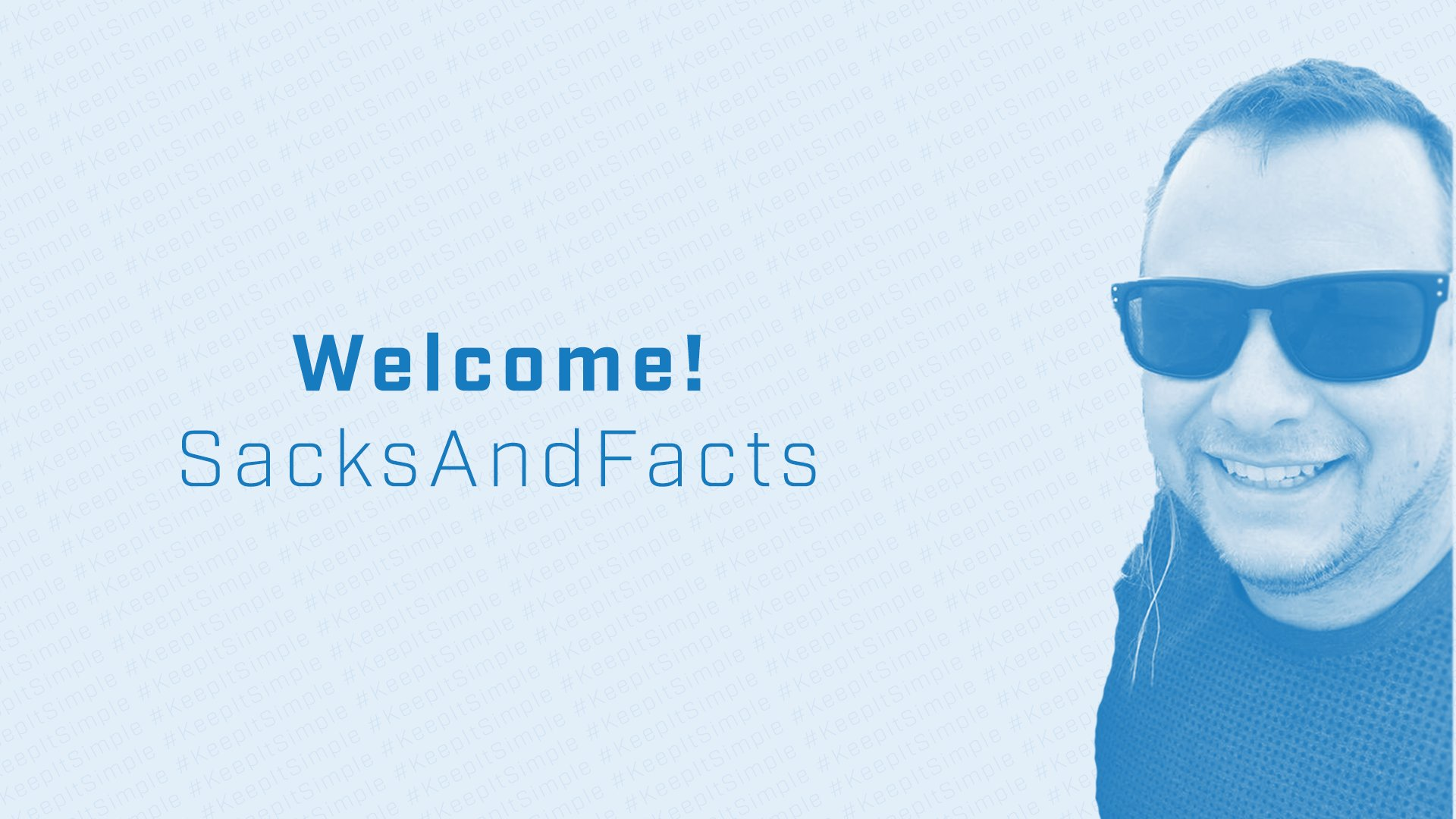 Welcome SacksAndFacts to the Simplicity Stream Team
