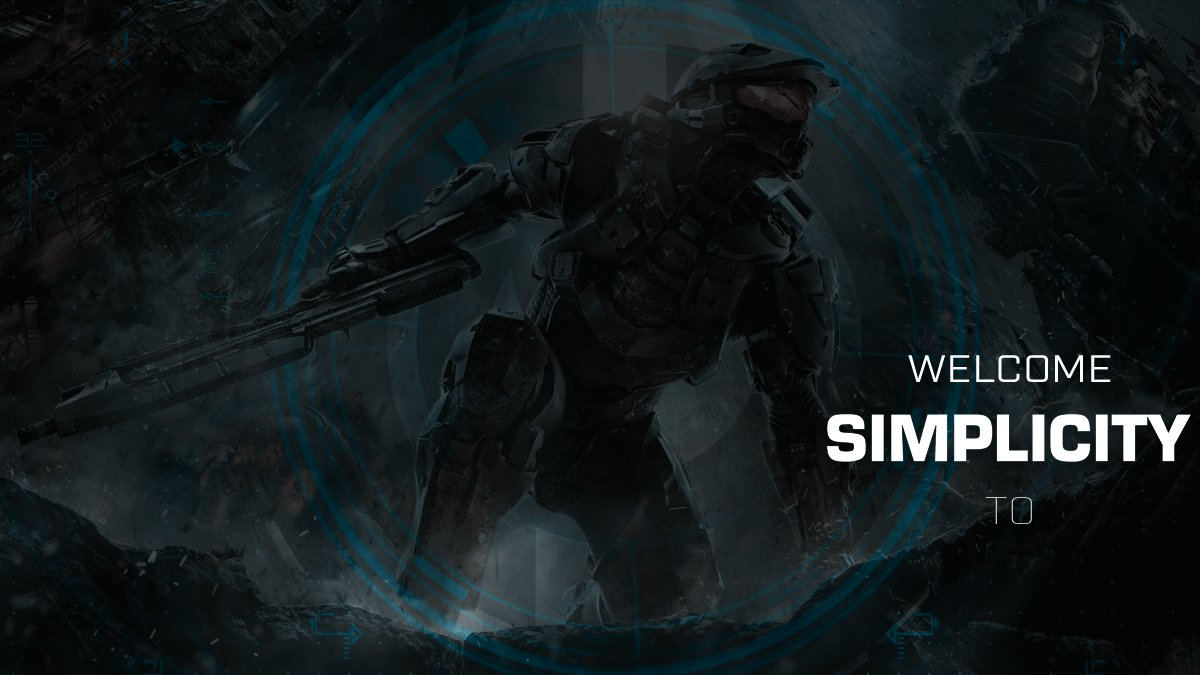 Welcome Simplicity Halo