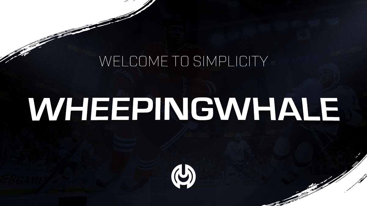 Welcome WheepingWhale To Simplicity EA Sports