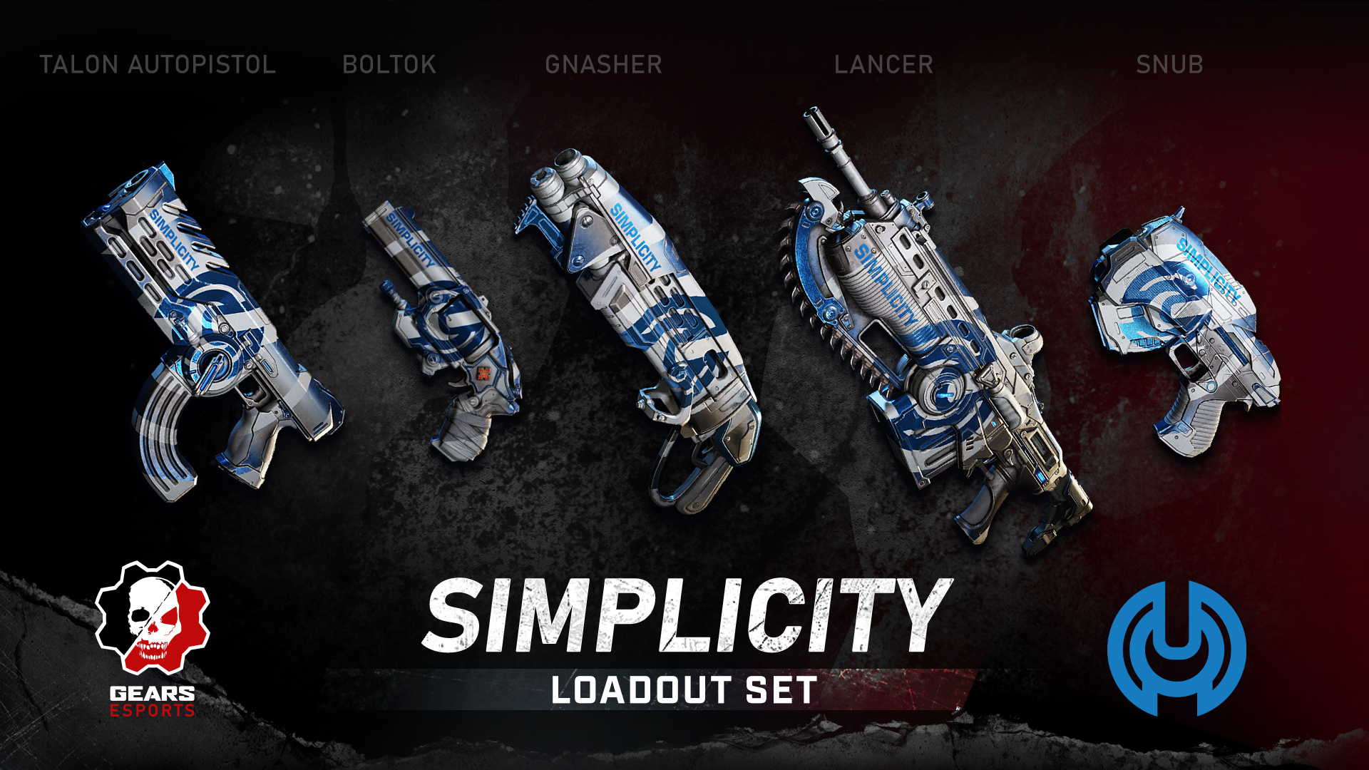 Simplicity Gears of War Team Skins