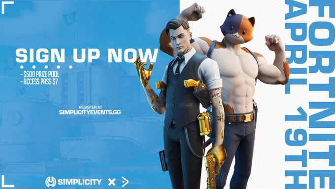 Announcing our first Fortnite Solos Tournament April 19th